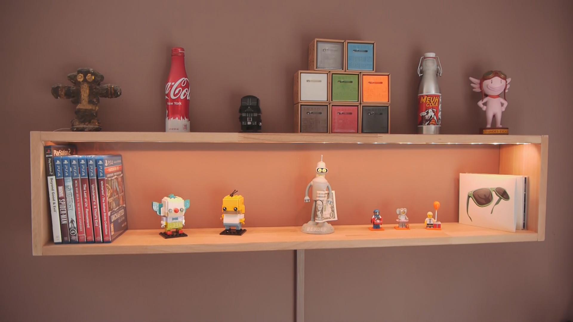 Fabrication d'une étagère murale avec fixations invisibles !